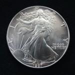 【アメリカ】イーグル銀貨 1ドル 買取させていただきました!!