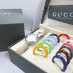 【グッチ/GUCCI】 ベゼルチェンジ レディース 腕時計 買取させていただきました。