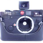 Leica/ライカ M6 ブラック ボディ 買取させていただきました。