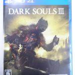 PS4 ソフト ダークソウル3 買取させていただきました。