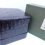 福岡県特産工芸品 籃胎漆器 重箱 買取させていただきました。