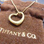 TIFFANY&Co. K18刻印 オープンハート ネックレス 買取させていただきました。