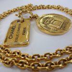 CHANEL/シャネル ヴィンテージ ゴールドネックレス 買取させていただきました。